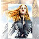 Scarlett Johansson miniature SJ2 by wu-wei