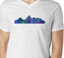 Mountain Life Mens V-Neck T-Shirt