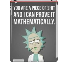 Rick And Morty - Proven iPad Case/Skin