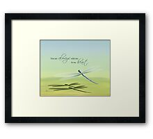 Always With Me Framed Print