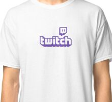 Twitch TV Logo Classic T-Shirt