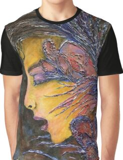 Thoughts Overgrown Graphic T-Shirt