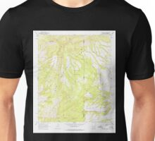 USGS TOPO Map Arizona AZ Alma Mesa 310250 1967 24000 Unisex T-Shirt