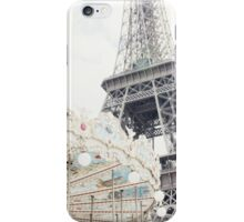 Eiffel Tower and Carousel iPhone Case/Skin
