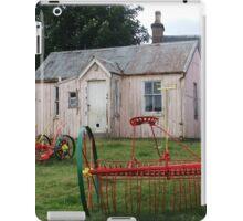 Old School Crofting equipment iPad Case/Skin