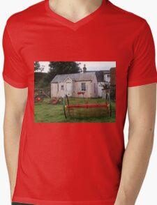 Old School Crofting equipment Mens V-Neck T-Shirt