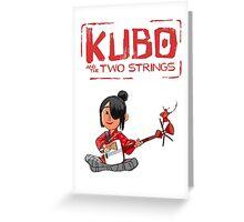 Kubo Movie 2016 Greeting Card