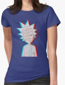 3D Rick Womens Fitted T-Shirt