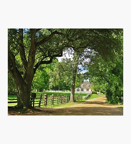 Colonial Williamsburg, Virginia Photographic Print