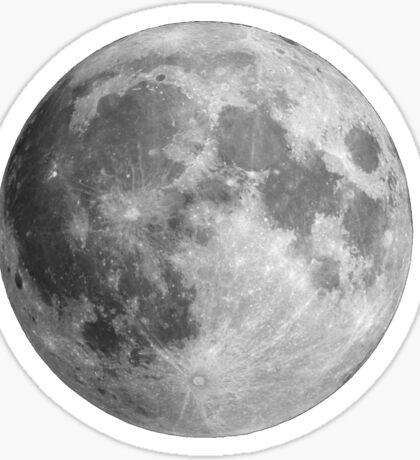 Full moon large Sticker