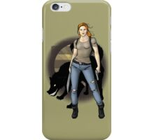 Post Apocalyptic Pinup iPhone Case/Skin
