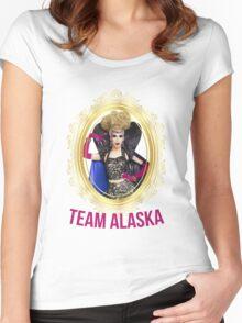 Rupaul's Drag Race All Stars 2 Team Alaska  Women's Fitted Scoop T-Shirt