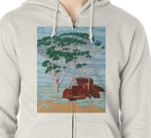 Betty's Last Stop Zipped Hoodie