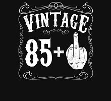 Vintage middle finger salute 86th birthday gift funny 86 birthday 1930 Unisex T-Shirt