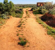 Road to Nowhere, Silverton, NSW by Christine Smith