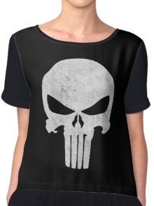 The Punisher Chiffon Top
