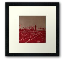 Tracks 1 Framed Print