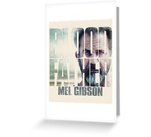 Blood Father film Greeting Card