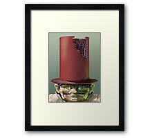 Hat Man Framed Print