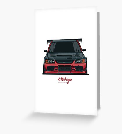 El Diablo Greeting Card