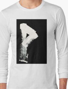 Runes - Elder Futhark - 0008 - Wunjo - Inverted Long Sleeve T-Shirt
