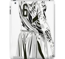 JAMES LEBRON art black white NBA iPad Case/Skin