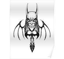 Gotham-Sumi Poster