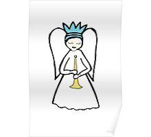 Angel Trumpet Poster