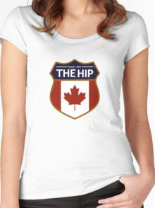 the tragically hip Women's Fitted Scoop T-Shirt