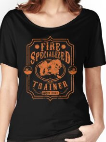 Fire Trainer (Arcanine) Women's Relaxed Fit T-Shirt