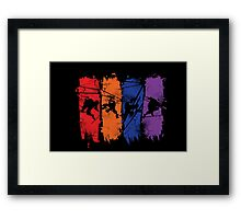 TEENAGE MUTANT NINJA TURTLES Framed Print