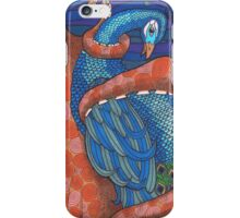 Octopus and Peacock iPhone Case/Skin