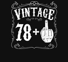 Vintage middle finger salute 79th birthday gift funny 79 birthday 1937 Unisex T-Shirt