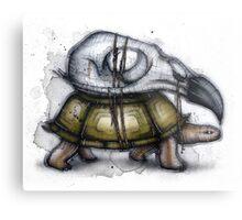Tortoise Exoskeleton Metal Print