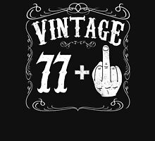 Vintage middle finger salute 78th birthday gift funny 78 birthday 1938 Unisex T-Shirt