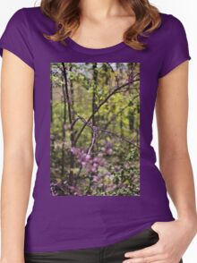 Red Bud Magic 5 Women's Fitted Scoop T-Shirt