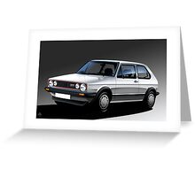 Poster artwork - Golf GTI Campaign Greeting Card