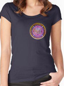 Kalachakra Yantra Women's Fitted Scoop T-Shirt