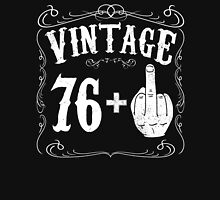 Vintage middle finger salute 77th birthday gift funny 77 birthday 1939 Unisex T-Shirt