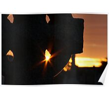 Evening Glow Poster