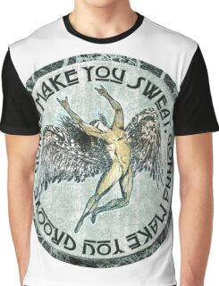 ICARUS THROWS THE HORNS - sweat and groove NEW DESIGN Graphic T-Shirt