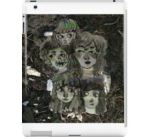 glitch decay iPad Case/Skin
