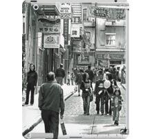 Urban Living in San Francisco- Chinatown Street Scene iPad Case/Skin