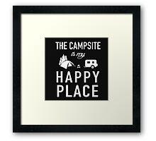 The Campsite Framed Print
