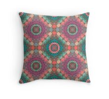 Colorful ornament Throw Pillow