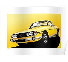 Poster artwork - Triumph Stag Poster