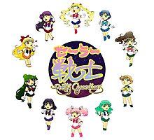 Baby Chibi Sailor Senshi Pretty Guardians Photographic Print