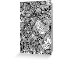 Squiggles on your iPhone - Psychedelic Art Greeting Card
