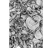 Squiggles on your iPhone - Psychedelic Art Photographic Print