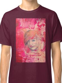 Jaynie - original portrait of a girl Classic T-Shirt